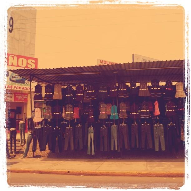 Ejército de jeans.