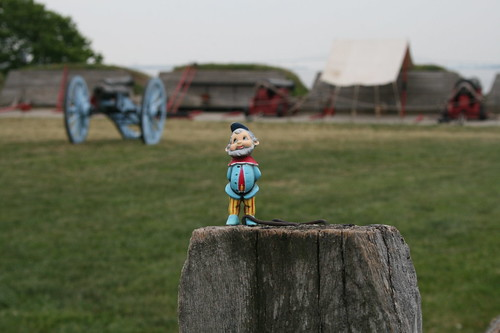 Roamy at Fort McHenry