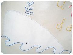 white whale tote bag!!