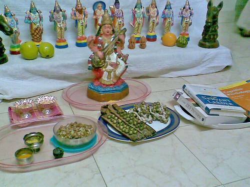 Saraswathi Pujai