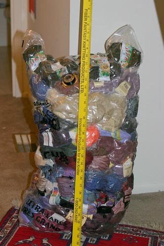 Spacebag after vacuuming