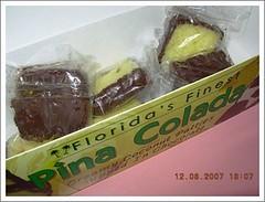 Pina Colada coconut patties