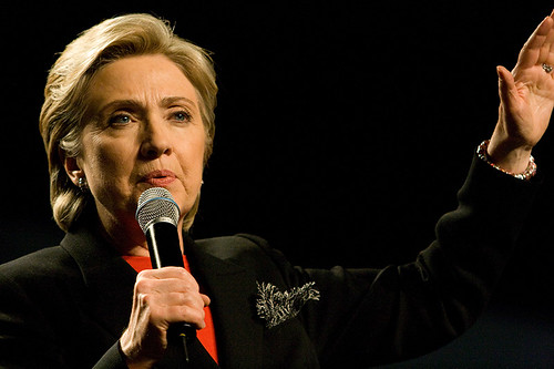 Hillary Clinton by Nrbelex via flickr