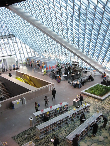 Seattle Public Library - living room