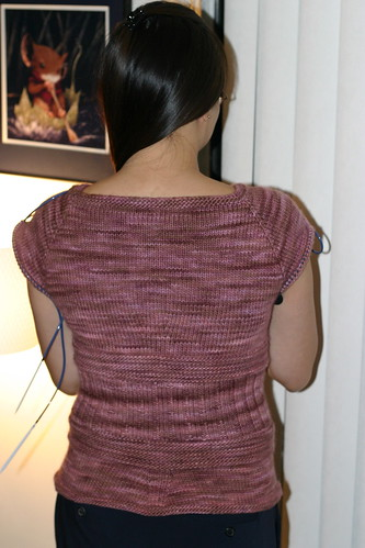 Finished body back view