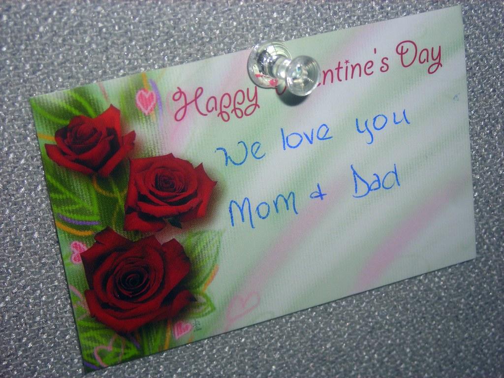 Valentine's Day Note