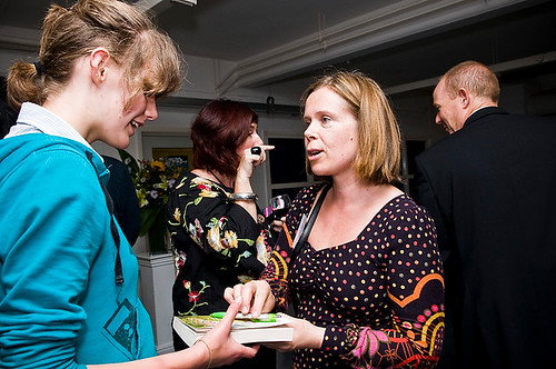Jenny Downham and young writer