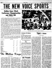 Golden Lions Clinch, 1970