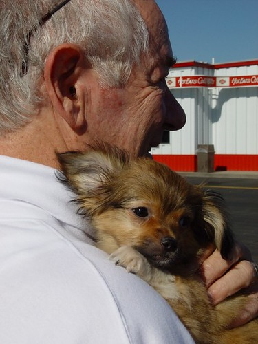 sparky meets dad