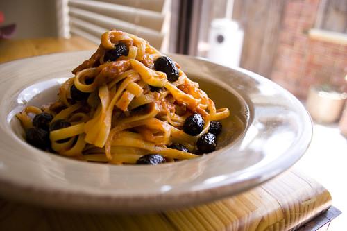 Fettuccini Amatriciana