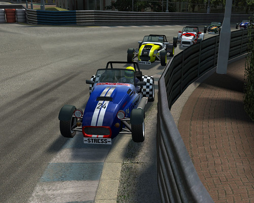 Sosna in close encounters with the armco