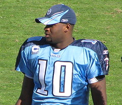Vince Young on the sidelines.