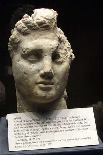 Head of Ptolemy III