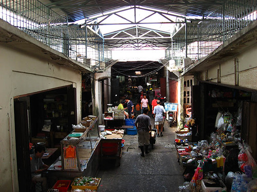 Inside Chow Kit Market
