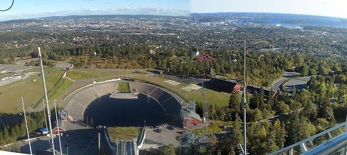 Ski Jump Overlooking Oslo