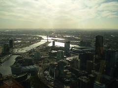 yarra viewing from the Skydeck