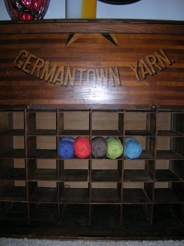 10-13 Yarn Cabinet Open