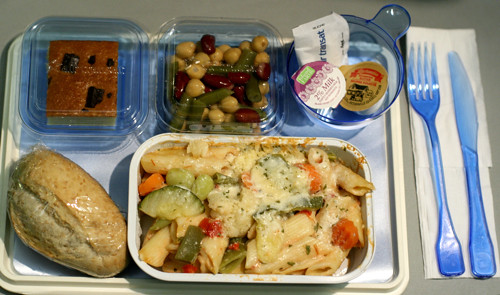 airplane food is not sexy