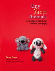 tiny yarn animals cover!