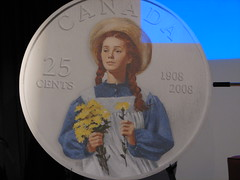 The Canadian Anne Shirley quarter