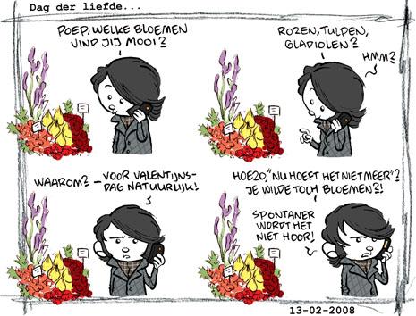 strip voor Valentijn