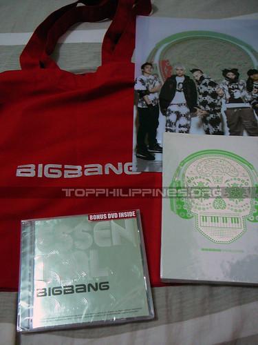Essential Big Bang and Big Bang Special Edition albums