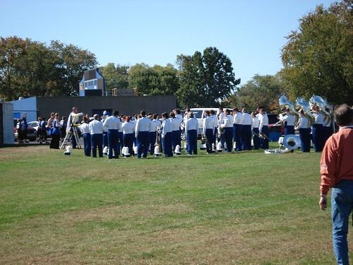 ISU Band Getting Ready