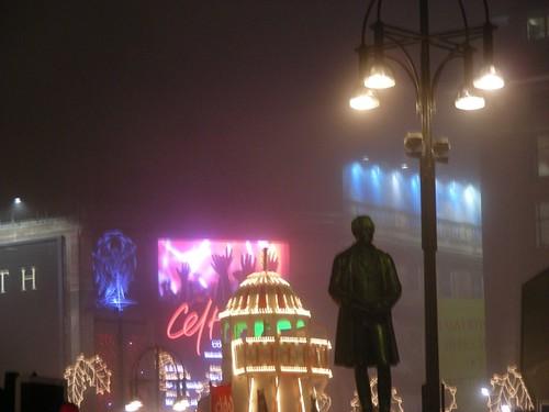 George Square Glasgow Lights