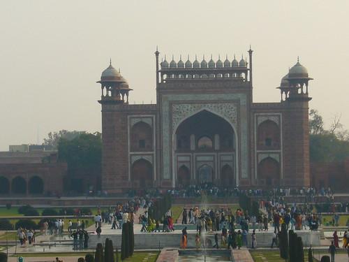 Taj Mahal�門_1