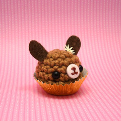 Amigurumi Chocolate bunny rabbit bon bon candy