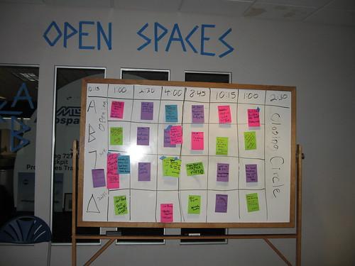 devLink Open Spaces sign