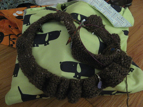 also a new bag - isnt it cute?