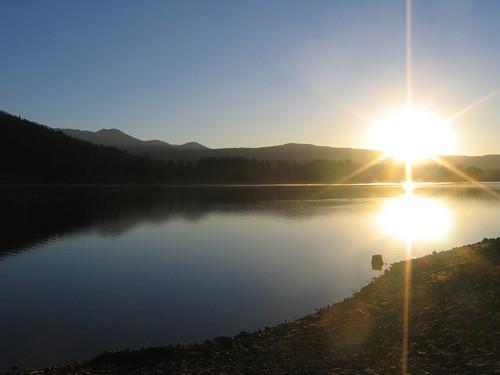 Day 03 - Sunrise Over Lake Siskiyou
