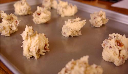 baking pecan cookies