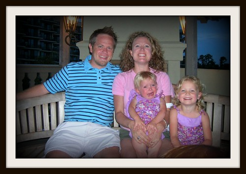 Rhodes family at Orange Beach