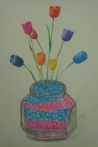 色鉛麥克�_人造花