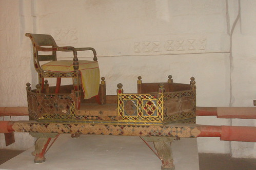 Meherangarh Fort 1-64國王轎椅