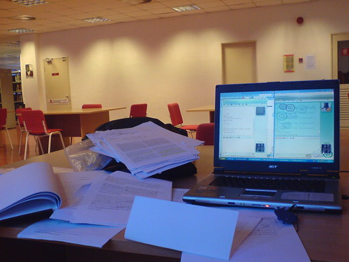 Thesis in library