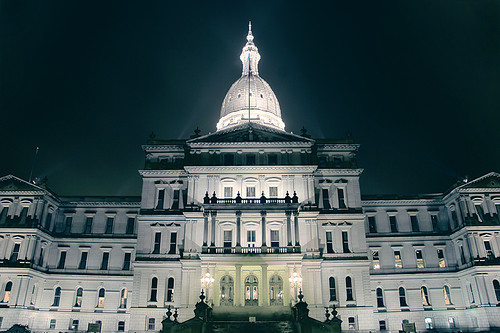 The Capitol of Michigan