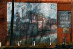 Wall Mural in the Mississippi Delta