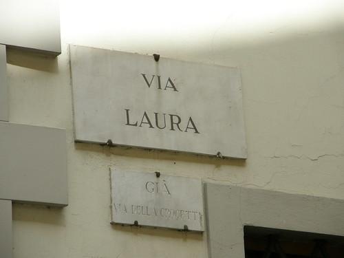 Firenze, via Laura