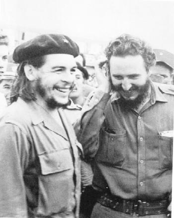 Ernesto Che Guevara y Fidel Castro
