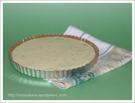key lime pie/tart
