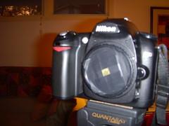 Nikon D50 with Pinhole Cap