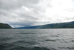 Crossing Lake Toba by Ben Peters