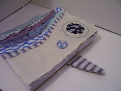 Fabric covered book