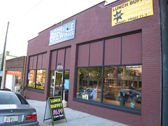 Asheville Brewing Company outside