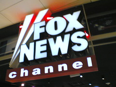 Fox News channel store in the airport