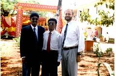 Mr. Patil, Mohan & Dad @ Anniversary