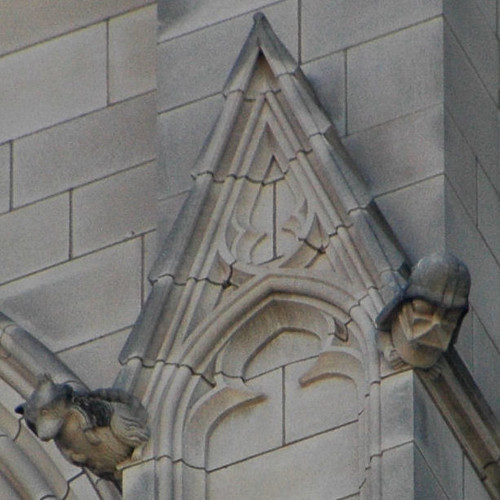 Darth Vader Grotesque at the National Cathedral (right)